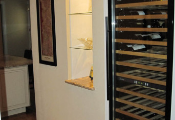 Wine storage, space planning